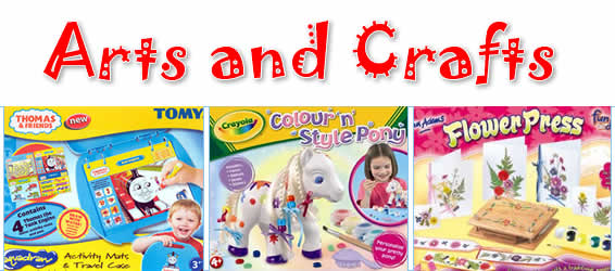 ARTS & CRAFTS TOYS AND GAMES
