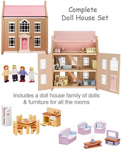 John Lewis Wooden doll house