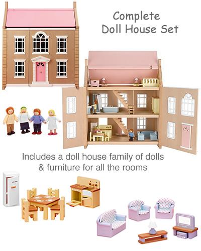 John Lewis Wooden Doll House