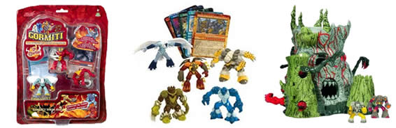 Gormiti Toys Games Action Figures Playsets