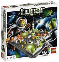 Lunar Command LEGO Board Game