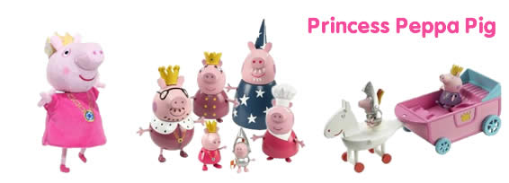 Princess Peppa Pig toys and playsets