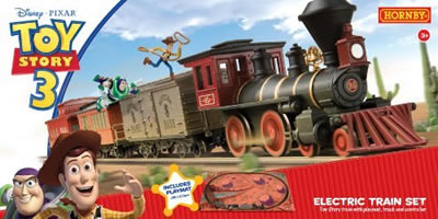 Toy Story Toy Electric Train Set and figures